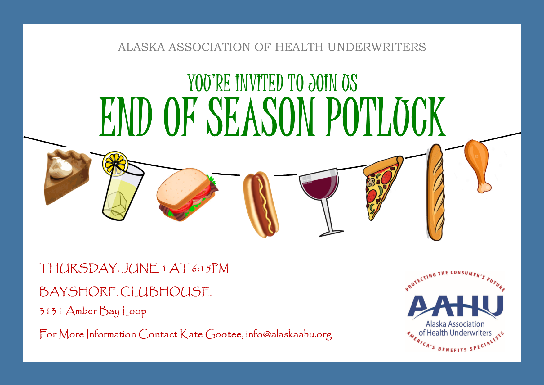 Alaska Association Of Health Underwriters 2017 Aahu End